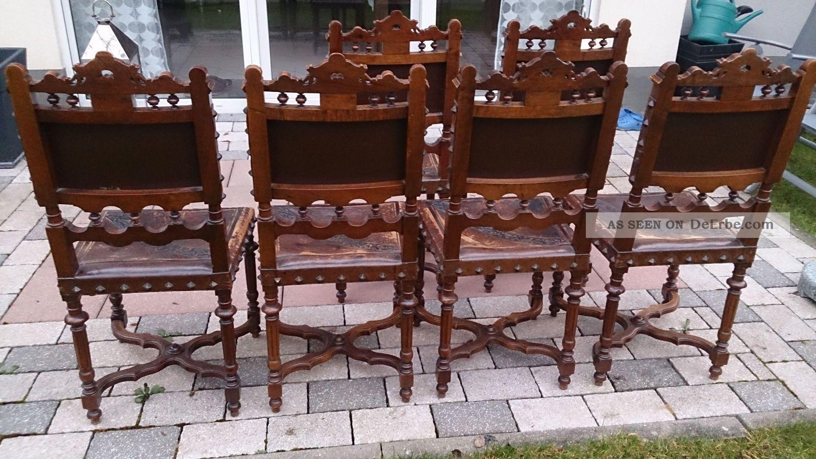 6 Antike Stuhle Im Henry Ii
