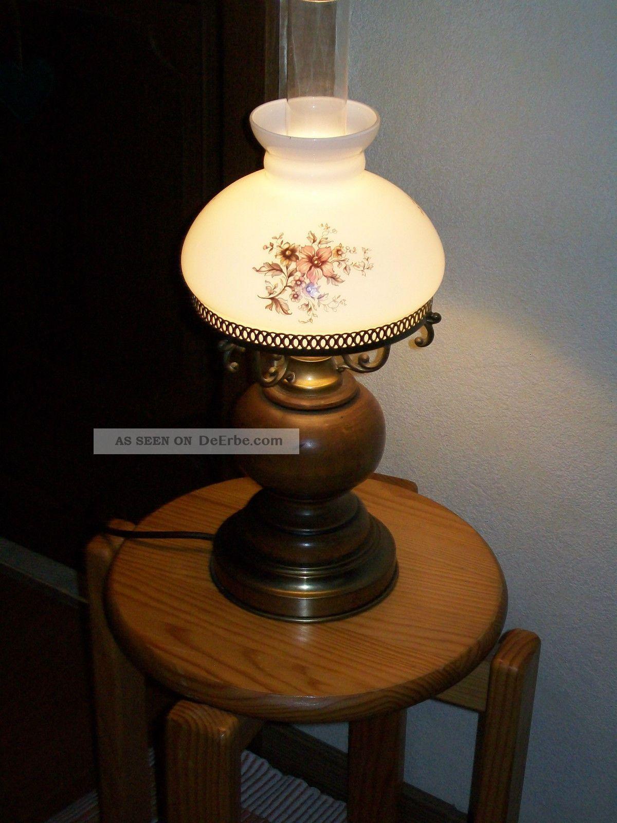 Tischlampe  Petroleumlampenart  Landhausstil