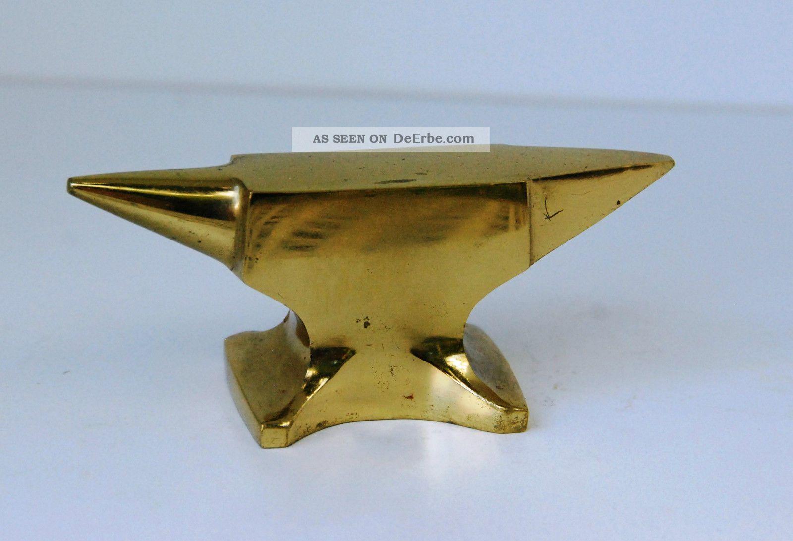 Kleiner Amboss Goldschmiedewerkzeug Vitrinenobjekt