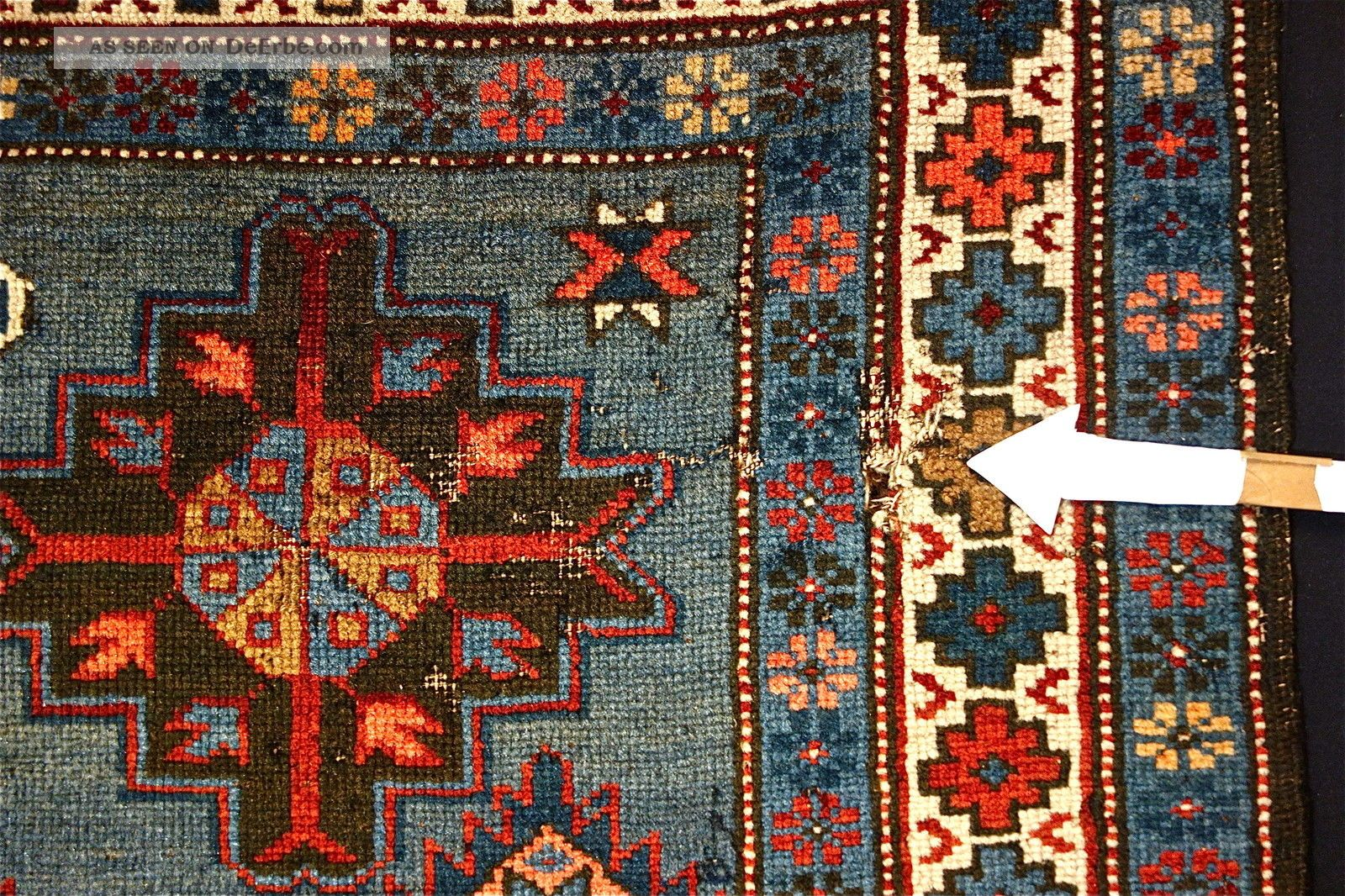 Antike Teppiche Antike Teppich Old Kuba Carpet