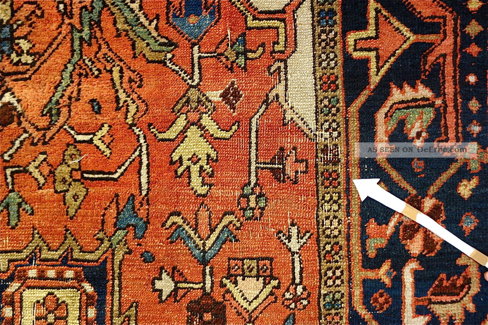 Antike Teppiche Antike Teppich Old Heriz Carpet