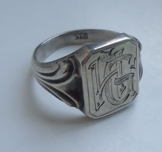 Antikschmuck  Schmuck  Accessoires  Ringe  Silber