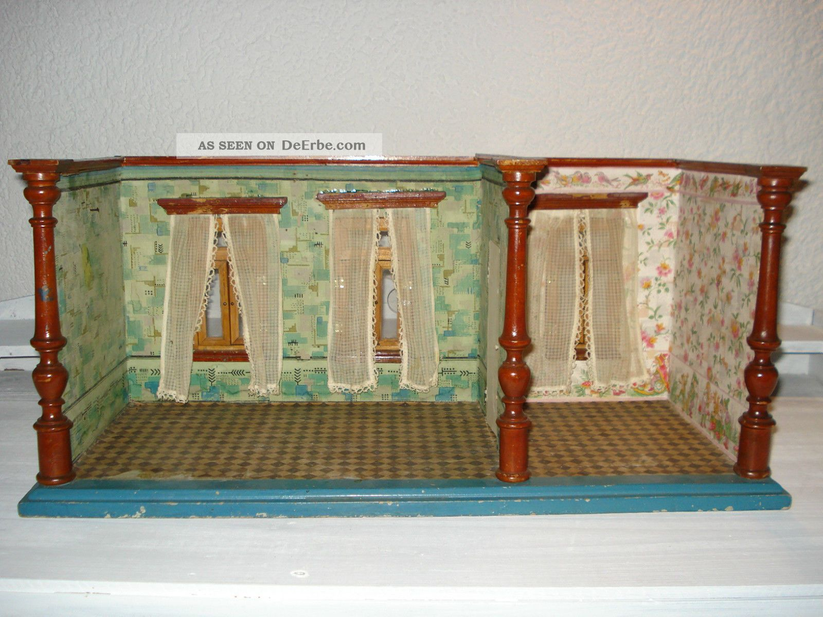 puppenhaus schlafzimmer  adventsständer mit adventskranz