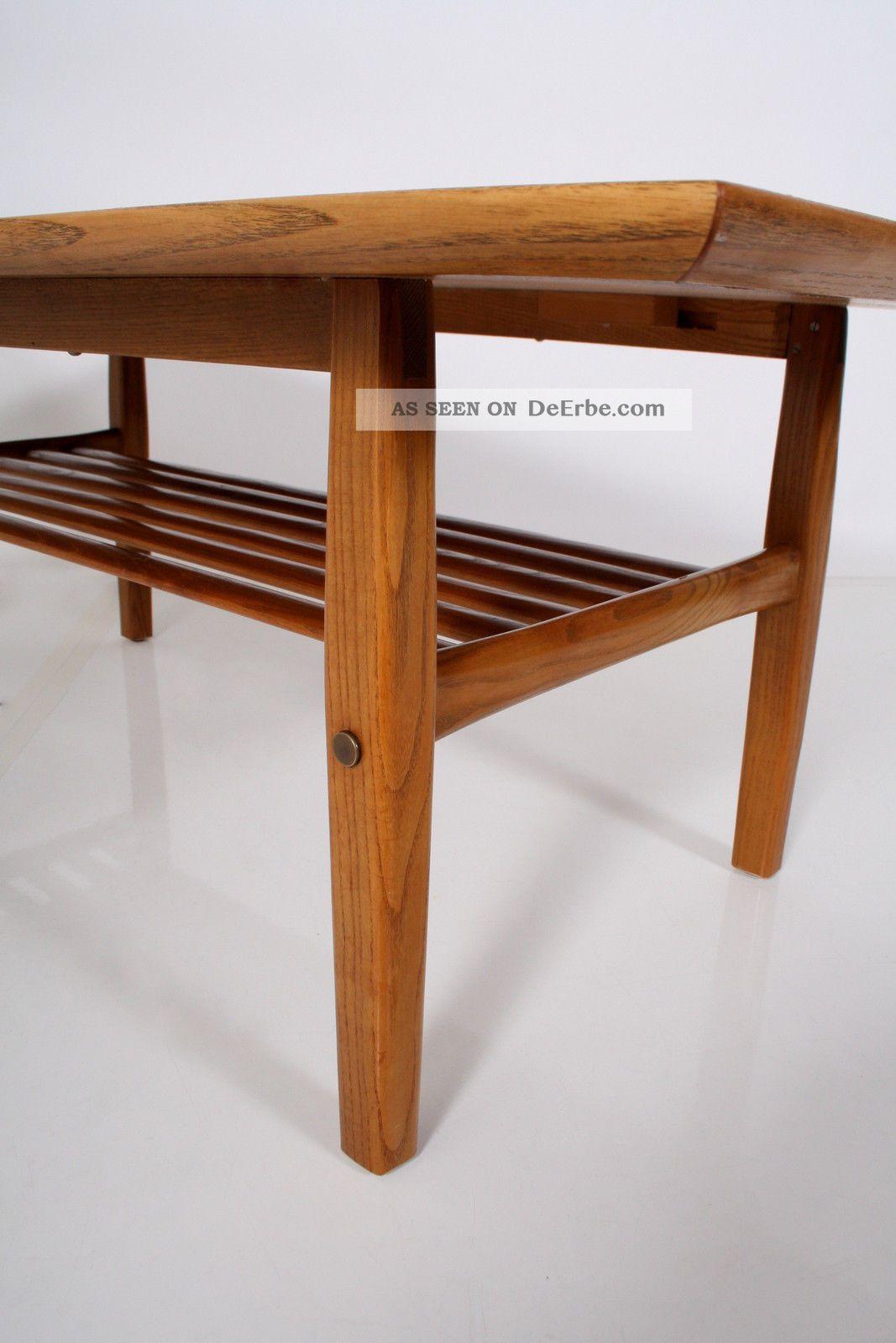 Couchtisch Kupfer Diy Teak 60er Coffee Table Danish Design