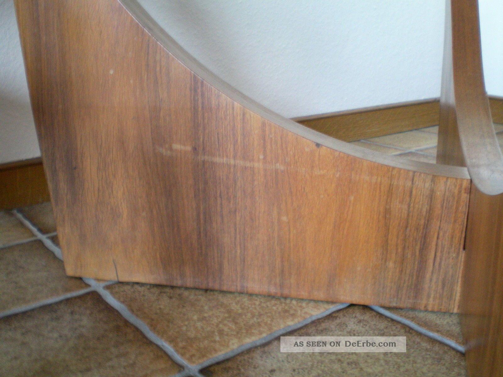 Danish Design Tisch 60er 70er Couchtischteak Holz Rund