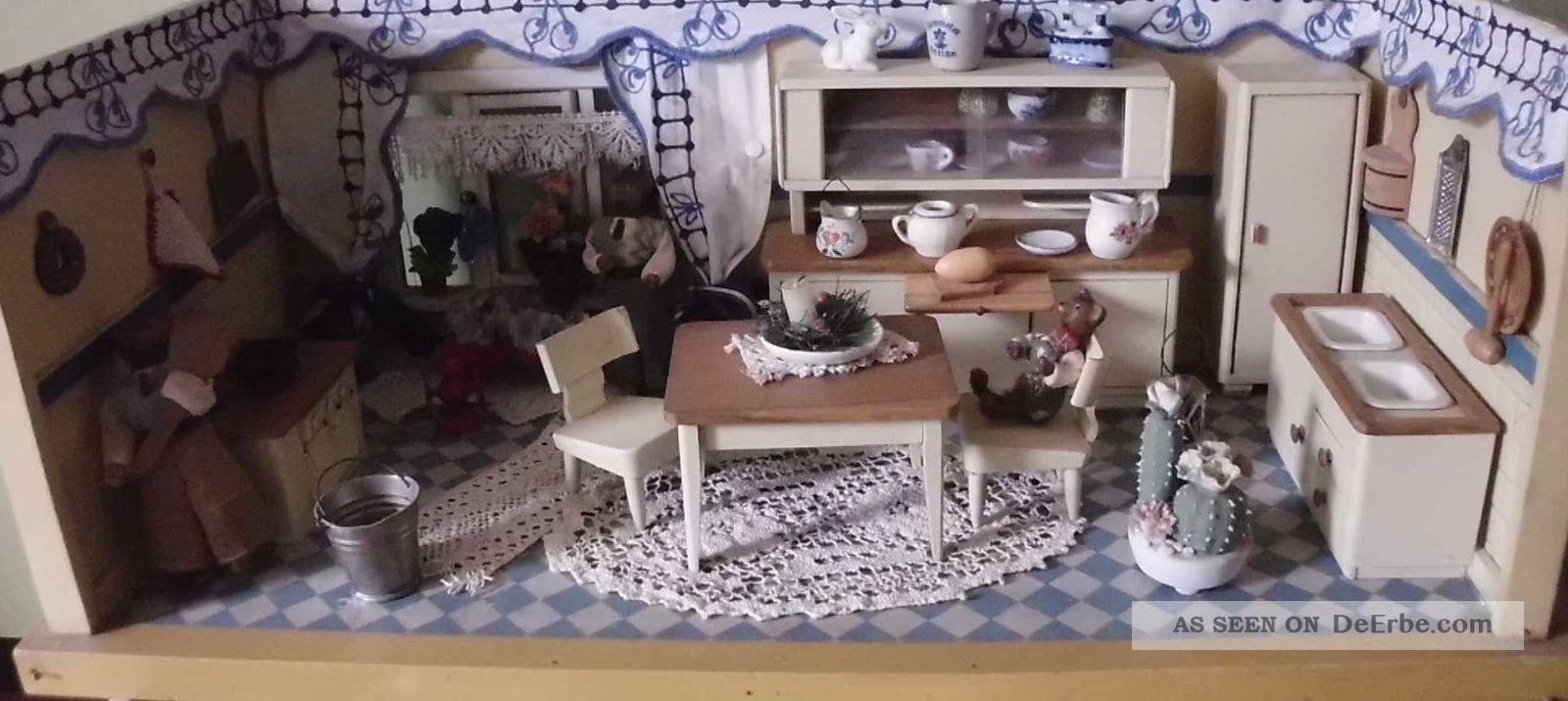 Alte Puppenstube kche Aus Den 50er Jahren