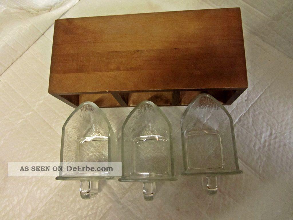 Regal Mit 3 Schtten Glas  Schtte Pressglas Frankfurter