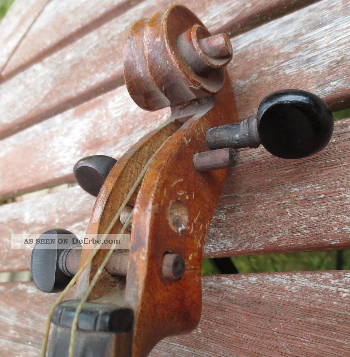 Alte Nahmaschine Restaurieren Alte Geige Zum Restaurieren Deko Um