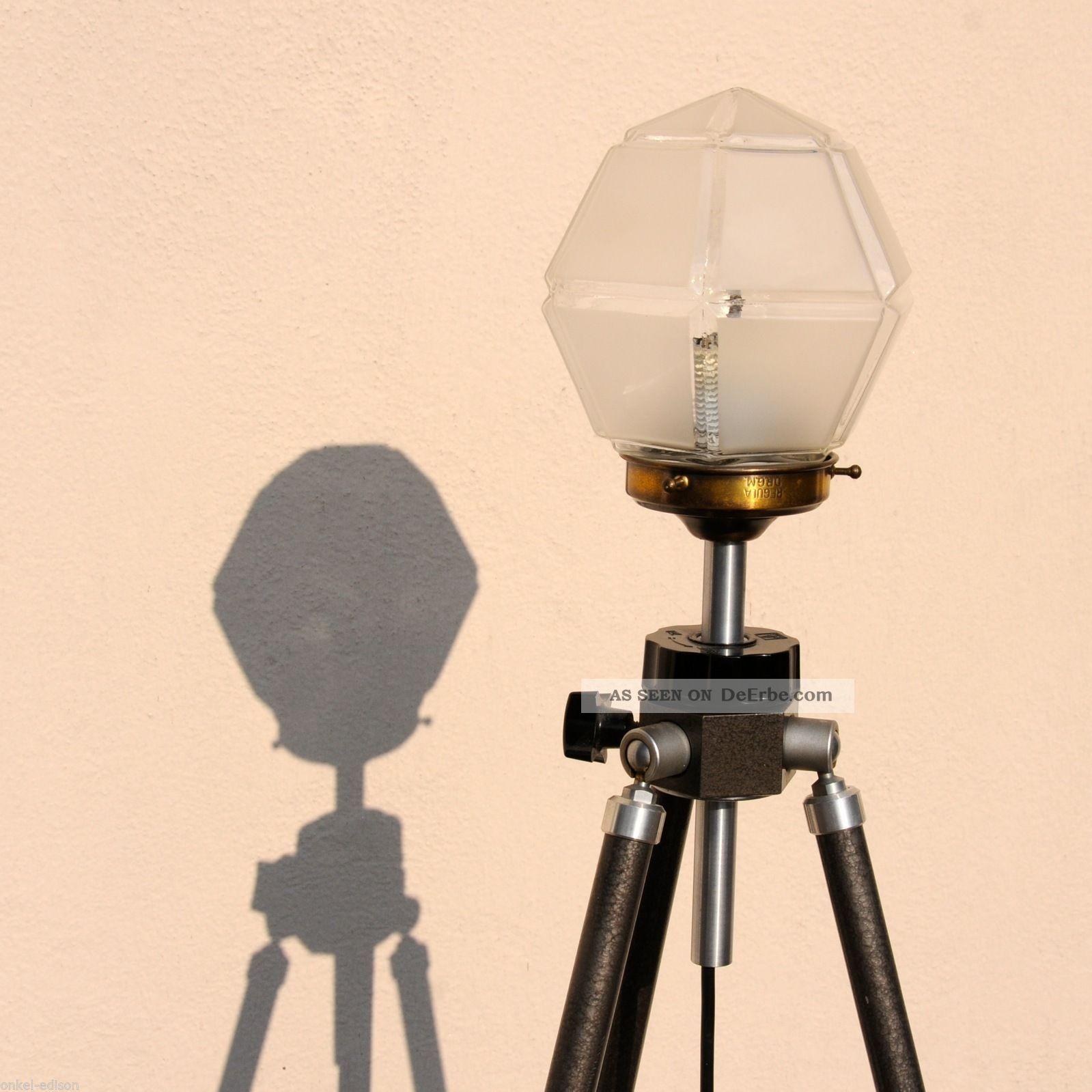 Stehlampe Industriedesign Tripod Stehlampe Hexagon Retro Lampe