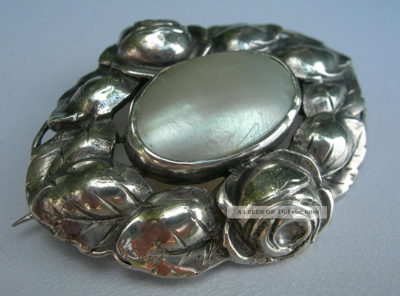 Ring Silber Perlmutt