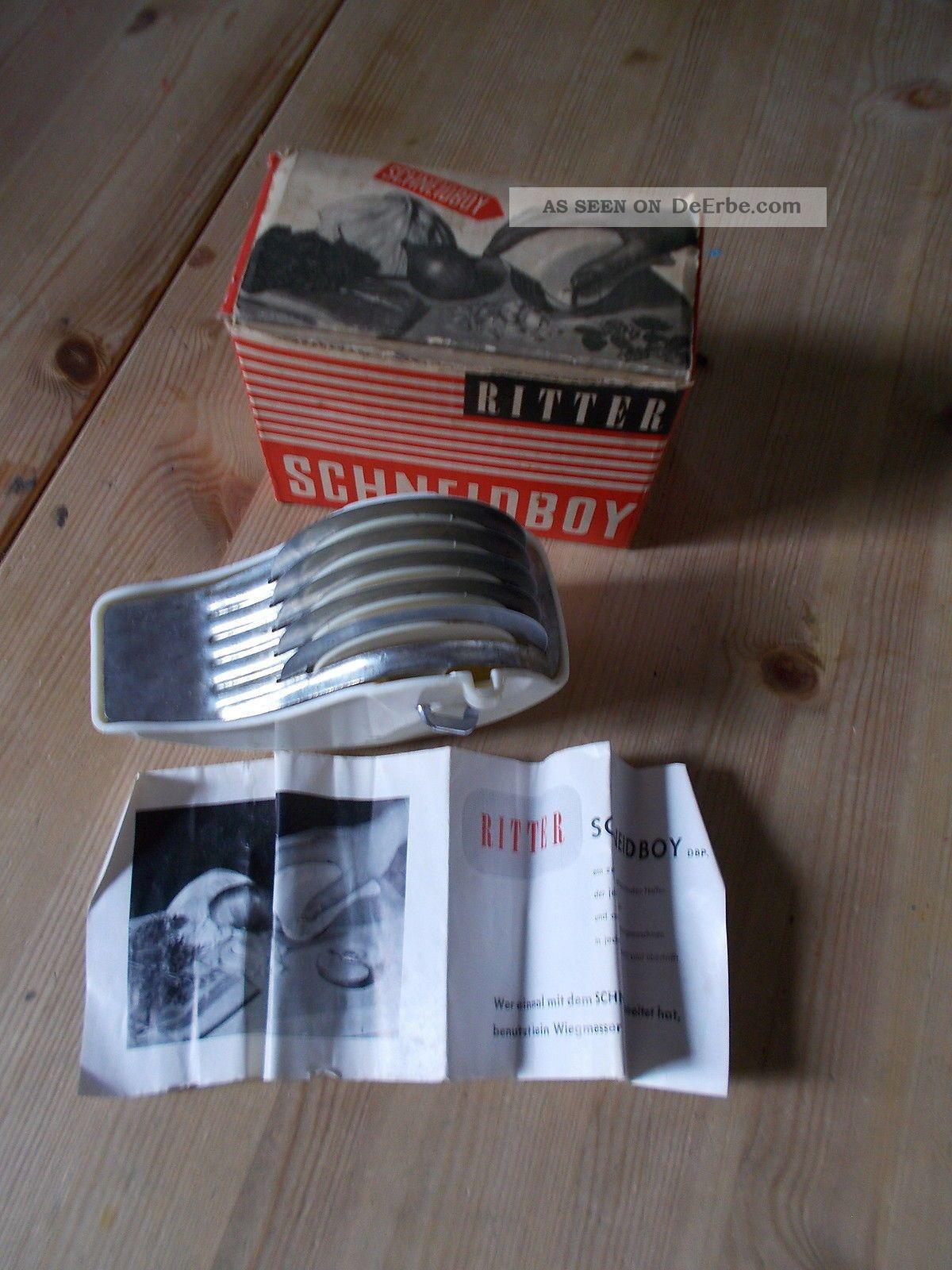 Ritter  Schneideboy  1950 Jahr  Moderne Kche  Bakalit Dachbodenfund