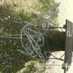Alter Garten Stuhl Armlehner Armlehnstuhl Dekoration