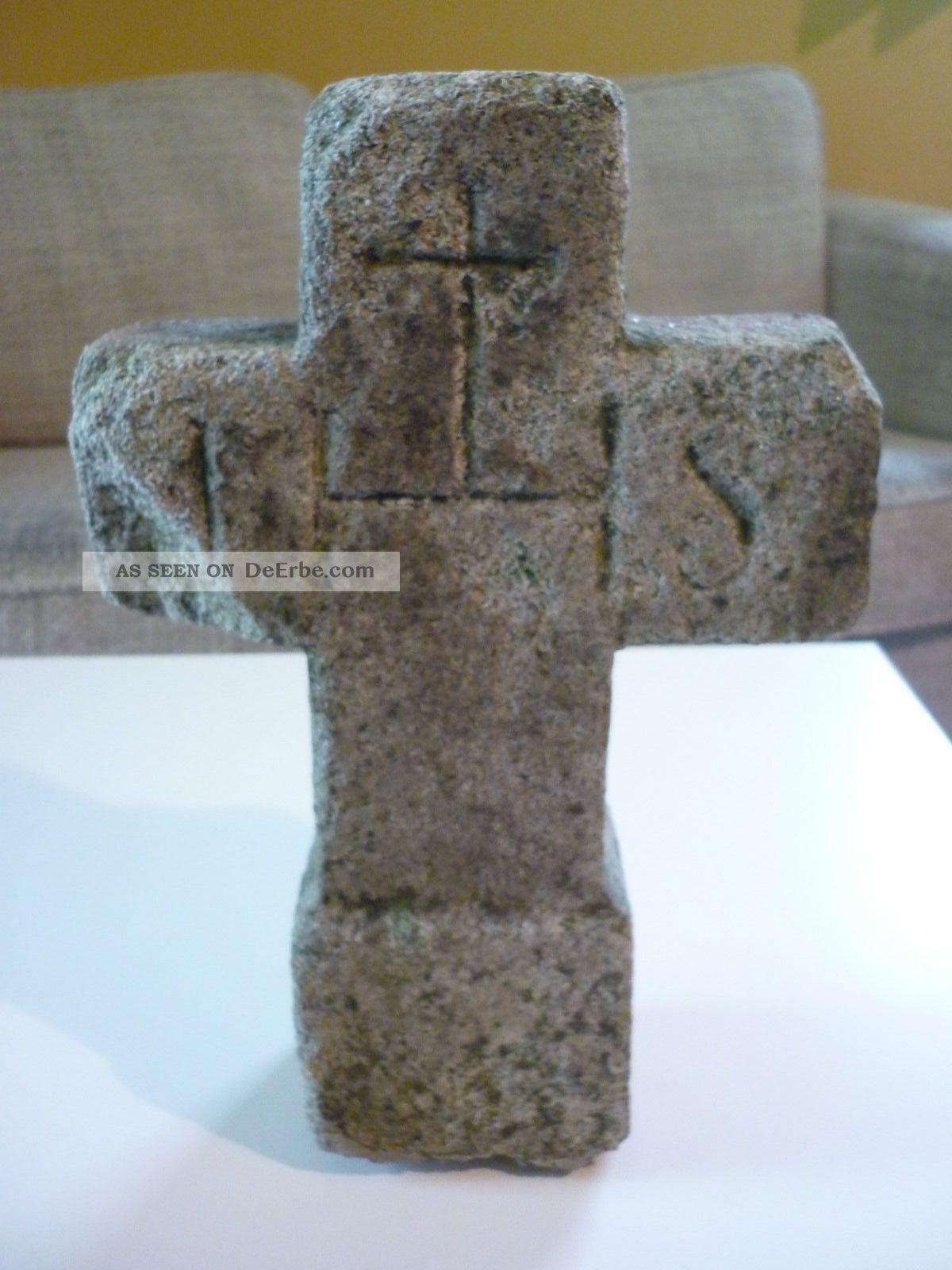 Schnes Altes Kreuz Aus Granit 30 Cm Hoch Grabkreuz
