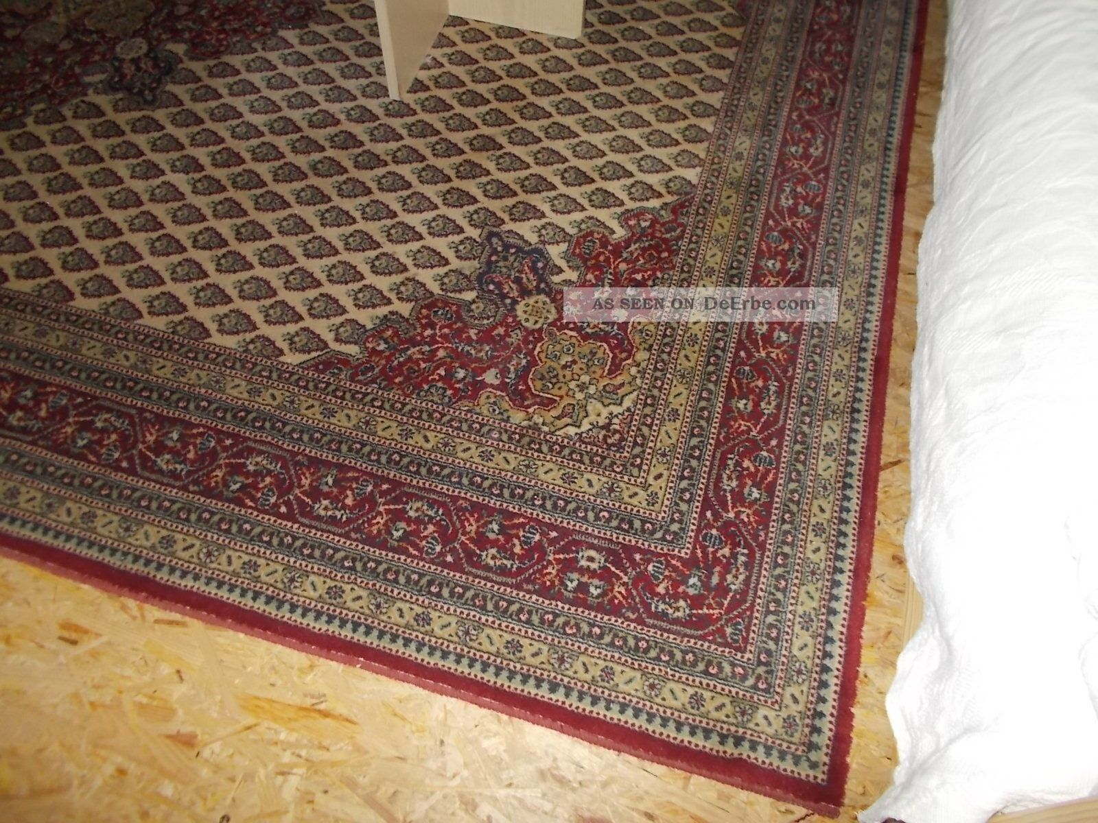 Kuhfell Teppich 200 X 300 Orient Teppich 200 X 300 Cm Schurwolle Rot Muster