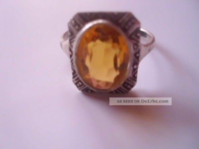 Silber Ring 835 Art Deco Schmuck Nachla