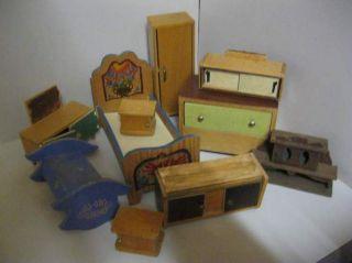 Antikspielzeug  Puppen  Zubehr  Puppenstubenzubehr  Nostalgieware nach 1970  Mbel