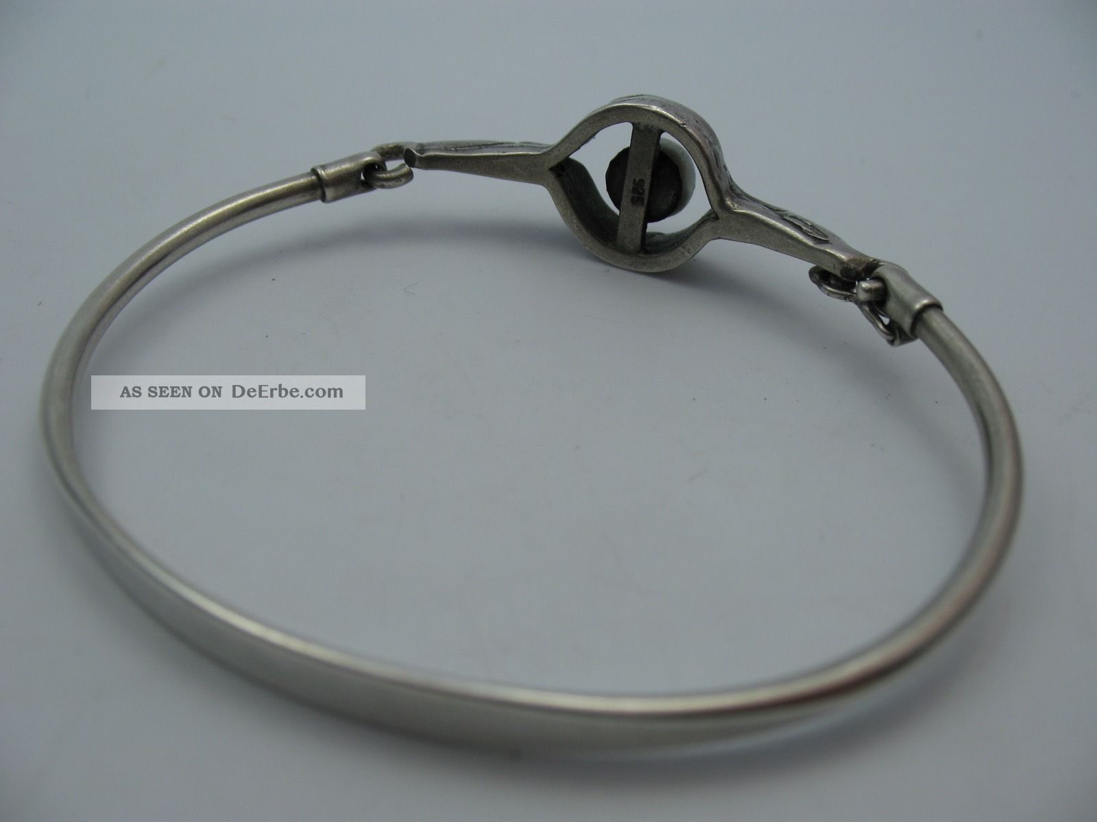 Perli Wunderschne Designer Armspange Mit Perle Aus 925 Sterling Silber