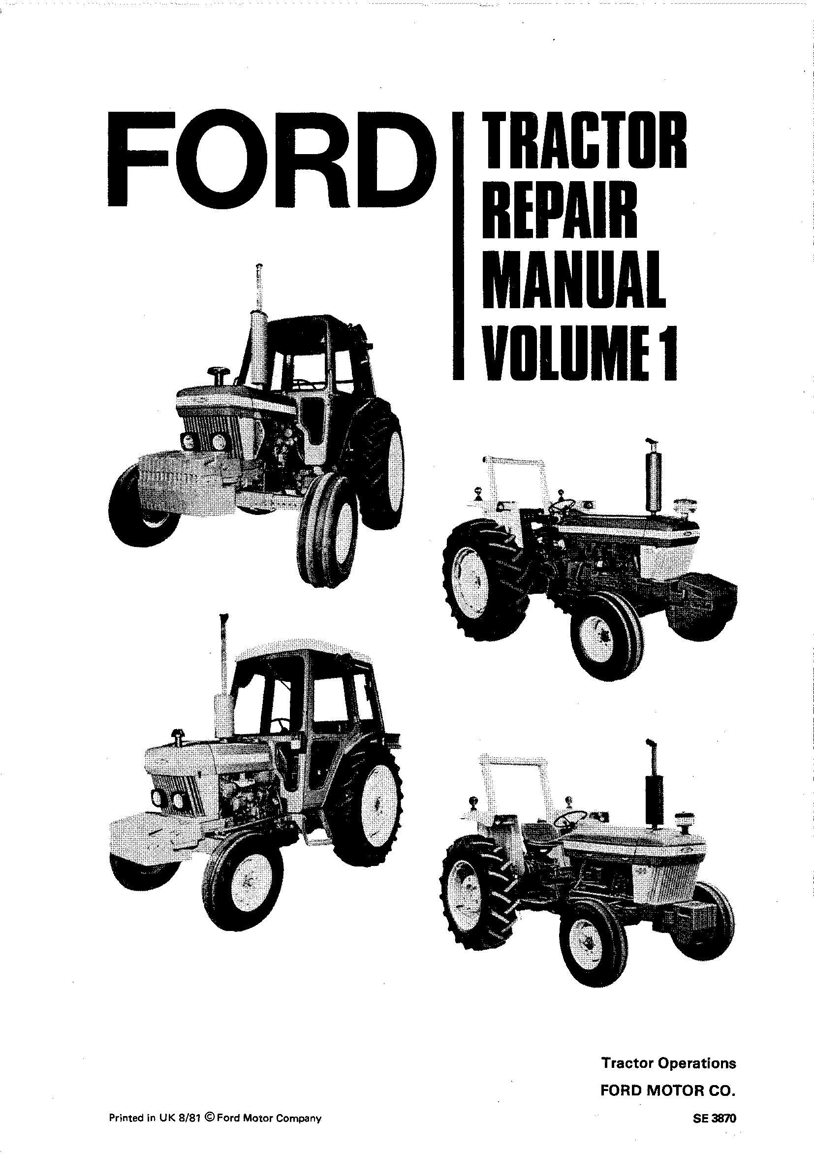 Ford 2910, 3910, 4110, 4610, 5610, 6610, 6710, 7610, 7710