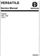 New Holland TC29D, TC33D Tractor Complete Service Manual