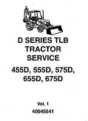 Ford 455D, 555D, 575D, 655D, 675D Tractor Loader Complete