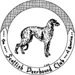 Logo of the Scottish Deerhound Club of America