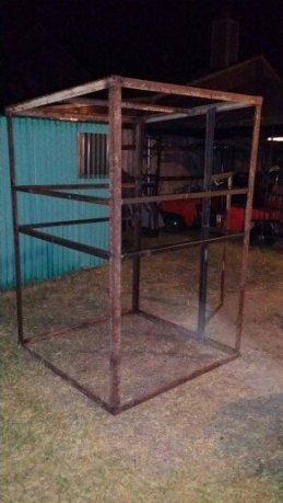 how to build deer blinds
