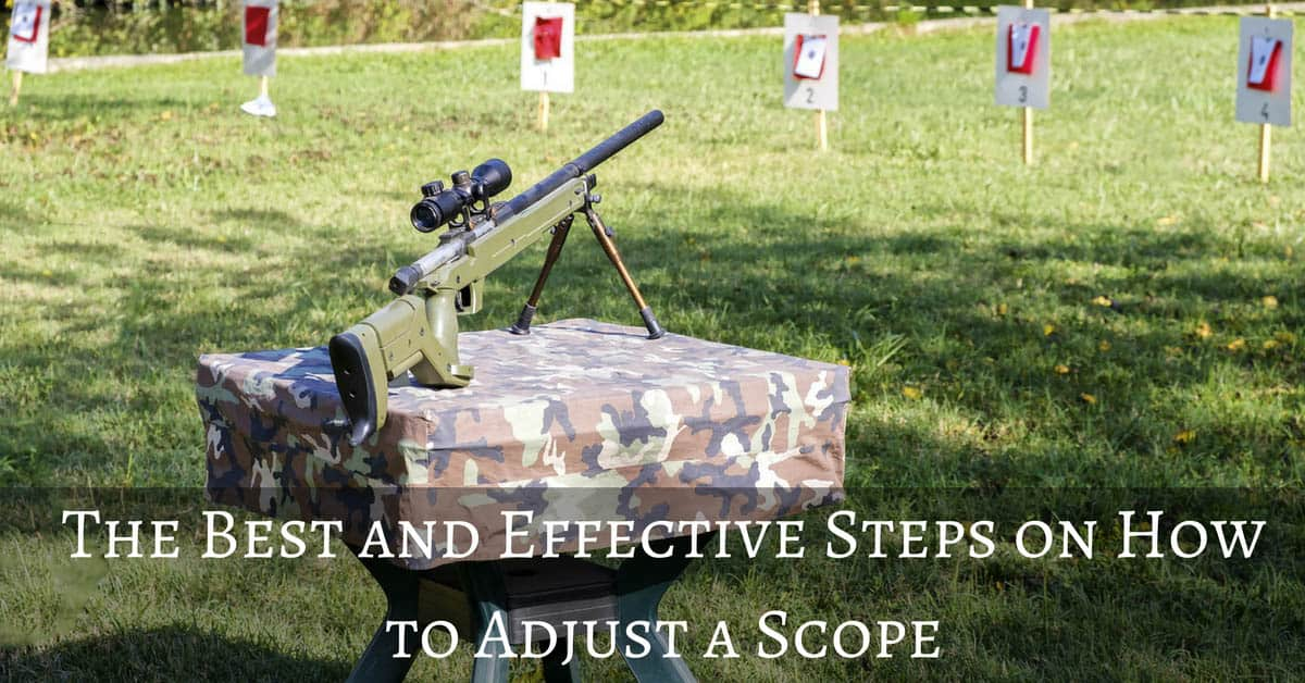 How to Adjust a Scope