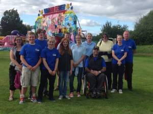 Club members who supported the Endsleigh Family Day in 2013
