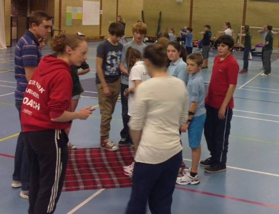 Steph, team building and having fun is part of effective coaching, especially with juniors!