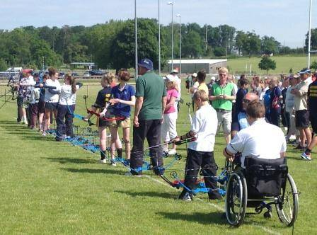 4 hours of competition organised by Deer Park Archers!