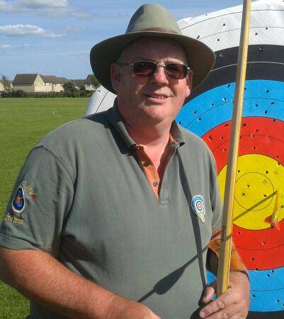 Kev Sutherland, now shooting Longbow and learning quickly!