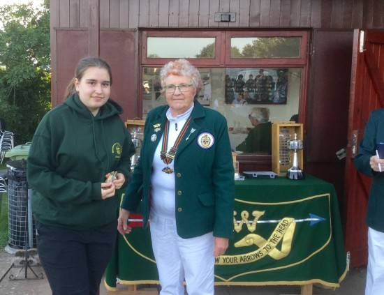 Ella Gibson, Shot for Gloucestershire and became Regional Champion breaking County & Regional Records in her first ever formal competition!