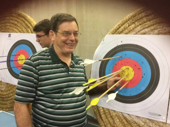 John Craigie, 100% record in the Longbow division.