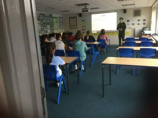 Classroom for workshops and L1 Coaching Courses.