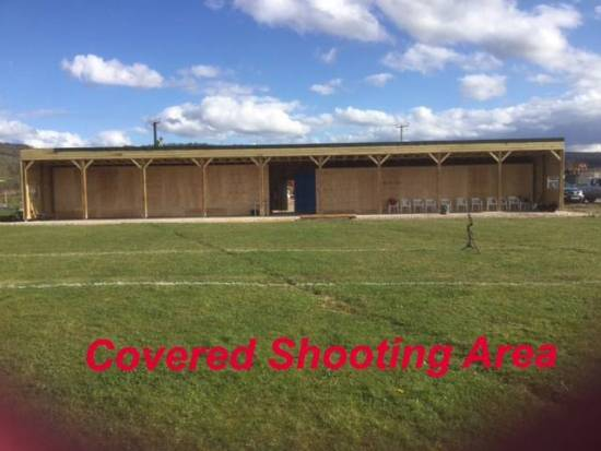 The new security arrangements will cover our stores, clubhouse, toilet block and covered shooting area