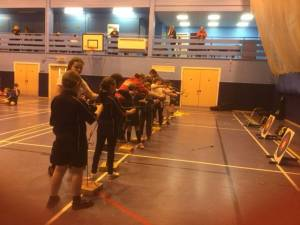 Games supported by Deer Park Archers Volunteers and led by Xperience archery.