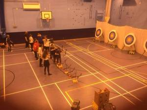 Both Genesis and Arrows equipment is used in the Gloucestershire Primary School Games.