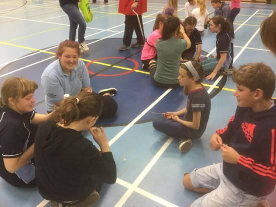 Balanced coaching, fun and team buliding