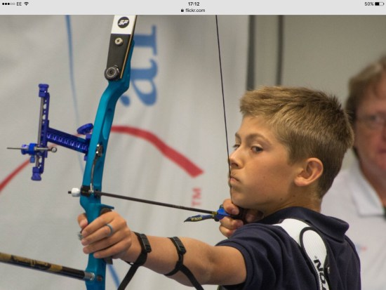 Riley Spencer-Nice recorded another cracking score and became British U14 Recurve Champion in the process!!