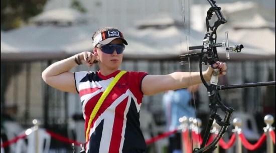 Phoebe Pine - Member of the archery GB World Class Programme!
