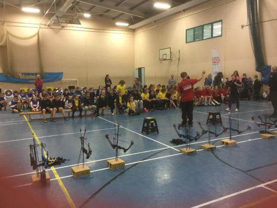Up to 72 Primary School Archers in each event and they run like clockwork!