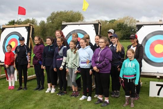 Some of our Junior Ladies Team.