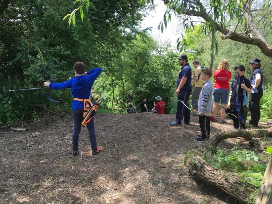 Field Course Training event for juniors.