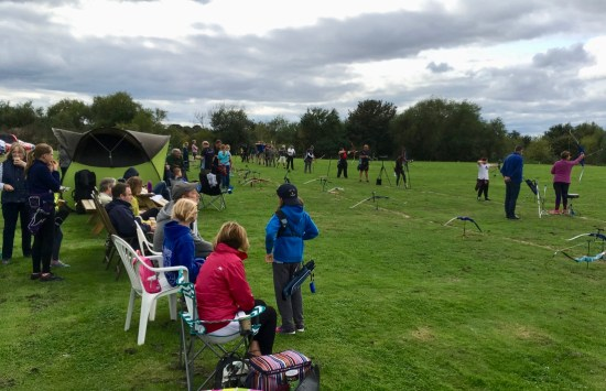 More than 40 archers at our target shoot!