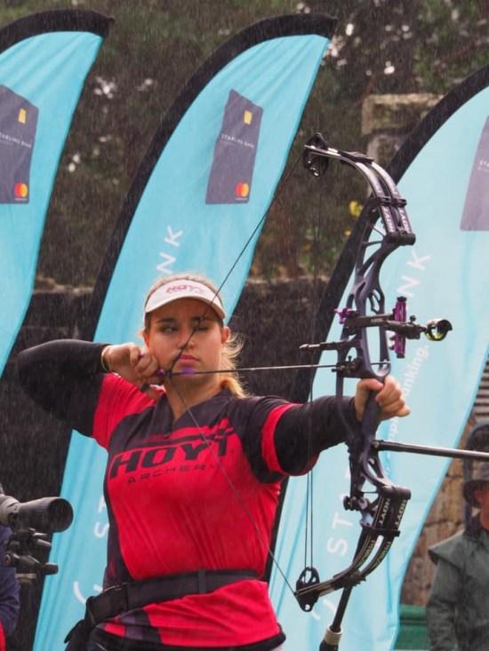 Ella Gibson - World Senior Record.