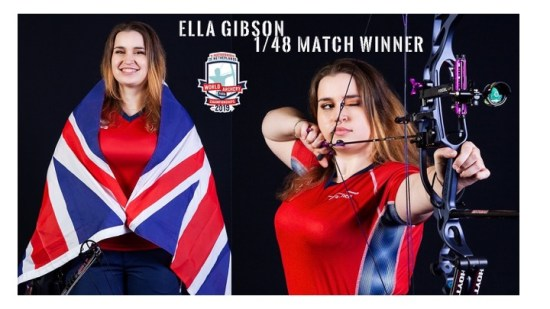 Ella Gibson Senior World Record Holder!