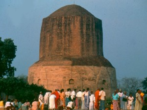Dhamekh Stupa at Sarnath in India