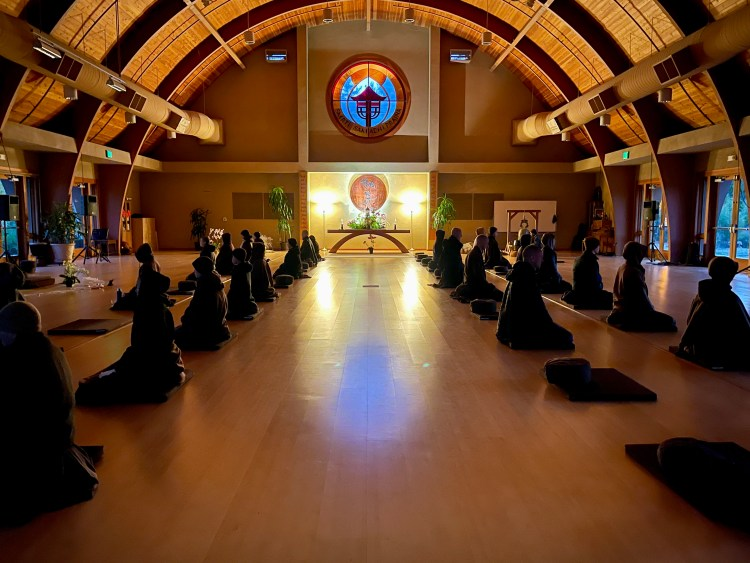 Ocean of Peace Meditation Hall