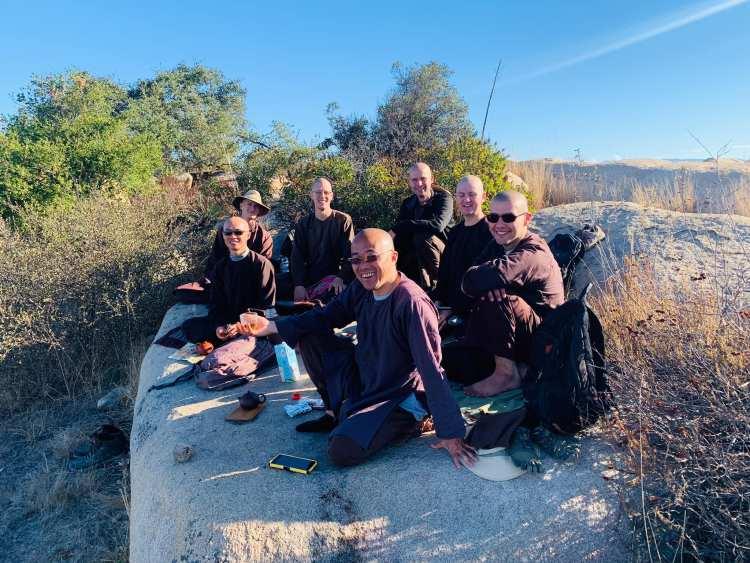 Hiking Photo of Monastics