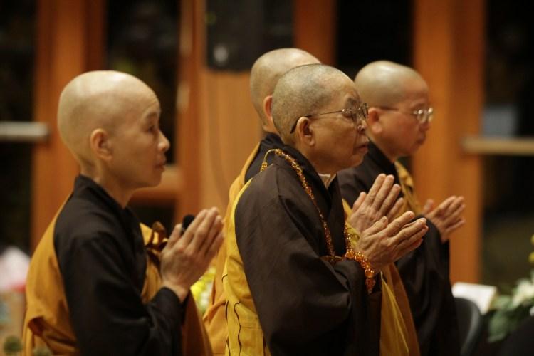 Venerable Nuns at Great Precepts Transmission Ceremony 2021